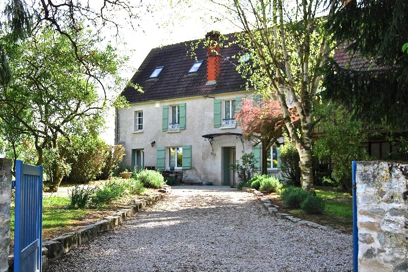 East entrance - 18th Century Cottage 1 hour from Paris - Picardy - rentals