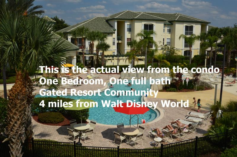 Poolside Zen themed 1BR condo near Disney World - Image 1 - Kissimmee - rentals