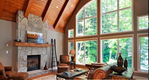View of the Living Room - MUSKOKAN CLUB RESORT -  YEAR-ROUND LUXURY - Port Carling - rentals