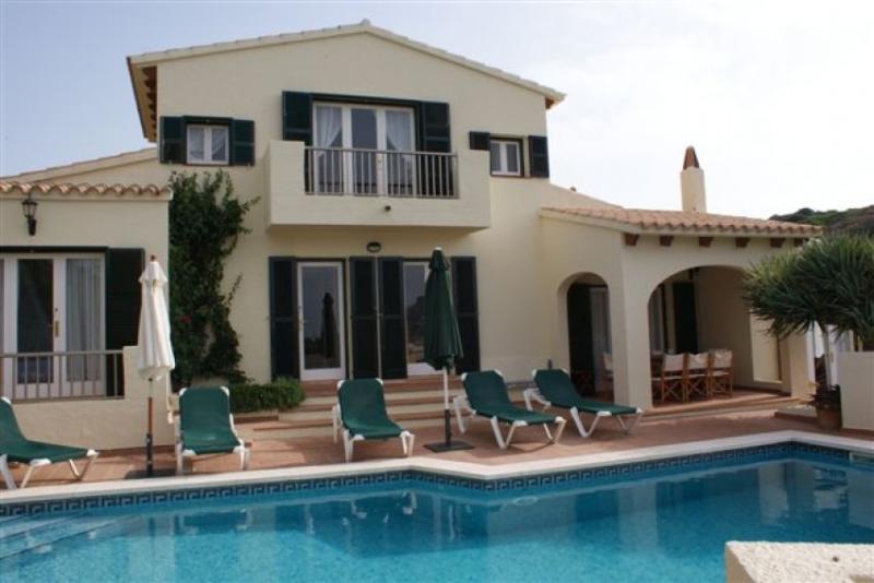Villa with private pool in Cala Llonga, Menorca - Image 1 - Es Castell - rentals