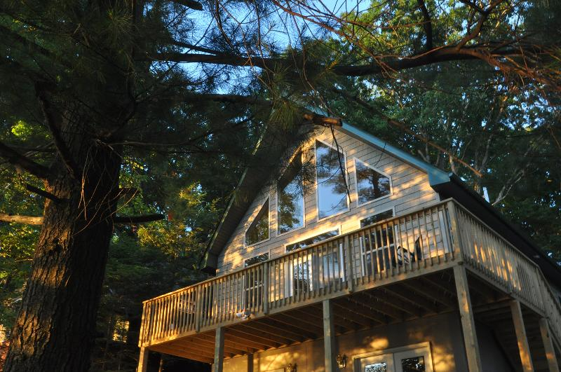 Just Listed  New Wallenpaupack Lakefront Chalet - Image 1 - Tafton - rentals