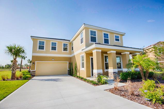 Front of Home - Solterra 6 Bed 6 Bath Pool Home (4225-SOLT) - Davenport - rentals