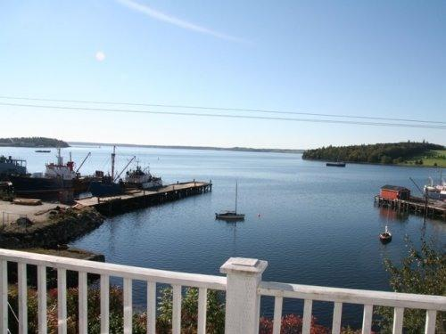 View from the Upper Deck over Lunenburg bay - Lunenburg oceanfront EARLY SUMMER SALE - Lunenburg - rentals