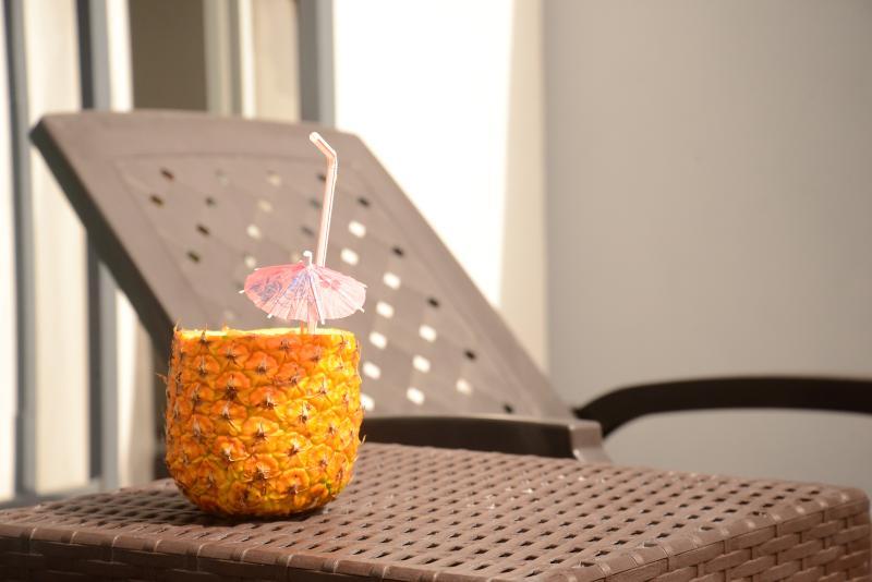 Sleek,Bright Condo w/Terrace–Work & Play in Naco - Image 1 - Santo Domingo - rentals
