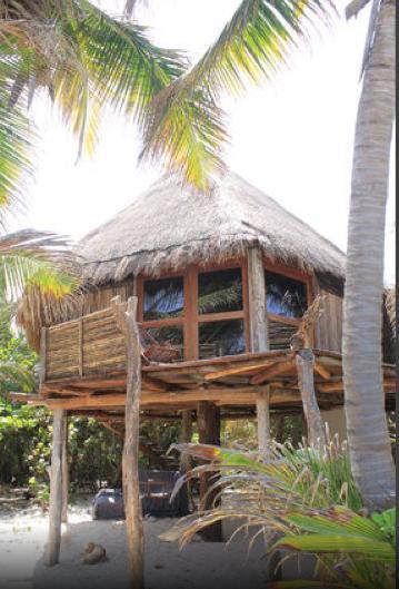 Private Eco~Luscious Cabanas on Beach - Image 1 - Tulum - rentals
