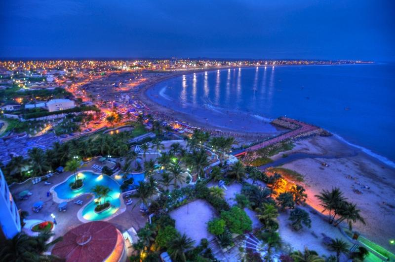 Playas at Night - Ecuador Eco-friendly Tropical Beach Vacation - Playas - rentals