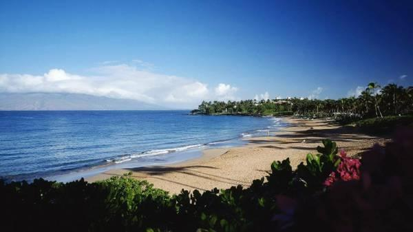 Wailea Beach ~ Closest Beach - Sunset on Lanai ~Wailea: Best Weather on Maui - Kihei - rentals