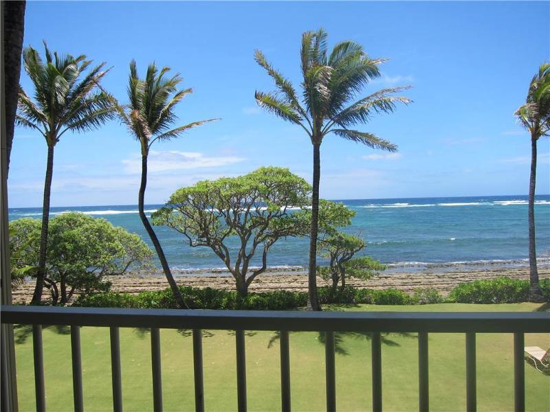Kapaa Shore Resort #207-Oceanfrnt/2nd Flr,Wifi/Pkg - Image 1 - Kapaa - rentals