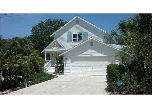 4 bedroom Key West style pool home minutes to village and beach - Image 1 - Siesta Key - rentals