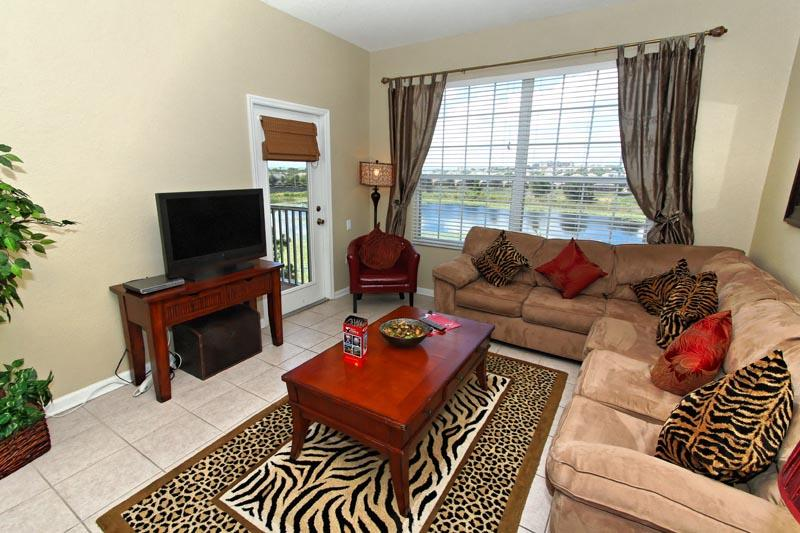 Family gathering room - Disney Retreat Two - Kissimmee - rentals