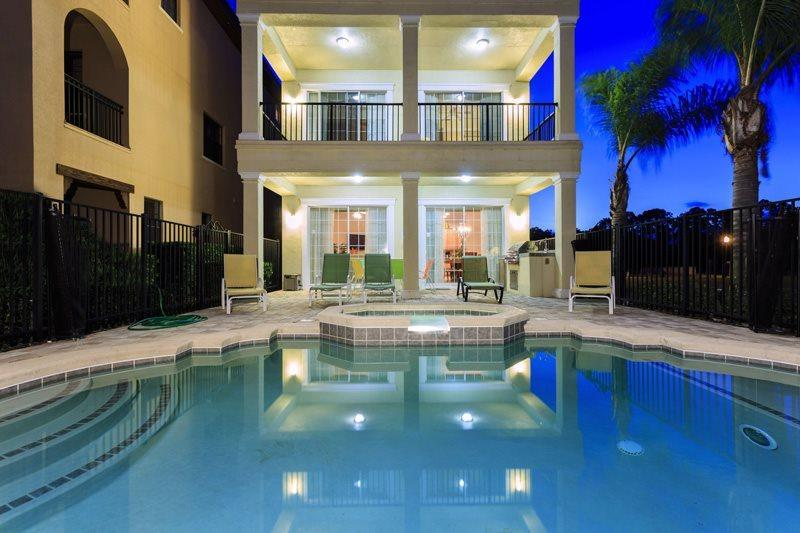 This Reunion Palace lives up to its name with 7 beds, 7 baths and 2 game rooms - Reunion Palace | 8 Bed Pool Home | Reunion Resort - Four Corners - rentals