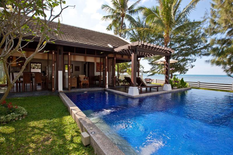 Pool villa with terrace - Beachfront Villa, Private Pool, 5 adults + 4 kids - Mae Nam - rentals