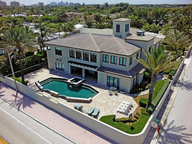Beach Mansion..Luxury Oceanfront Estate. - Image 1 - Fort Lauderdale - rentals