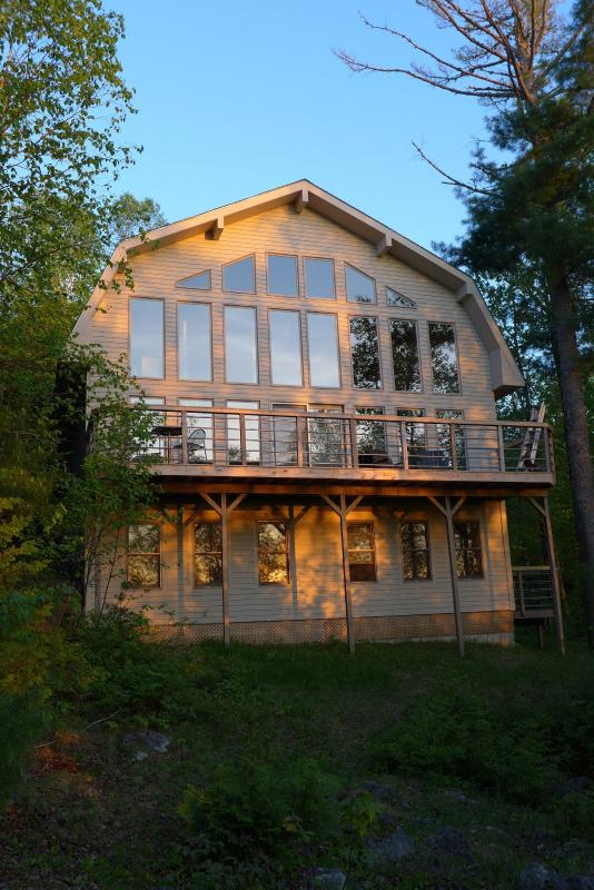 Lakefront vacation rental home in northern Maine - Image 1 - New Limerick - rentals