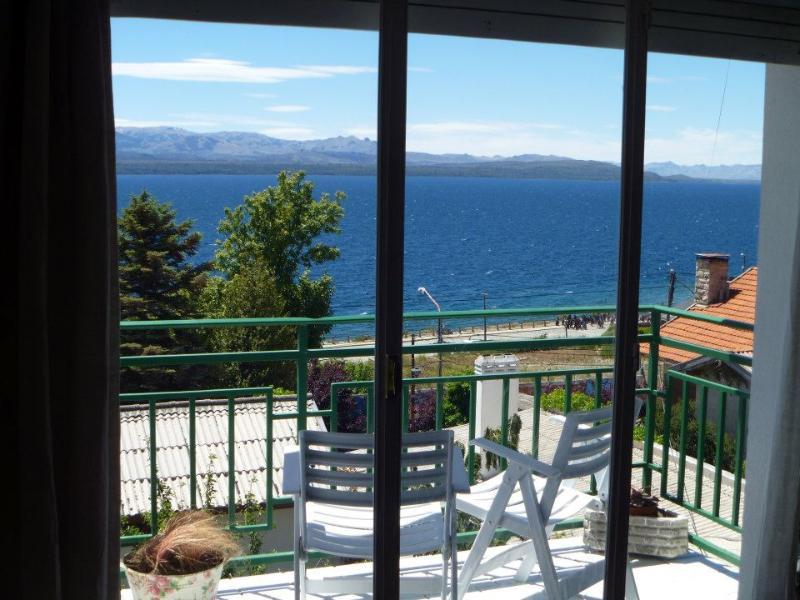 Living lake view - Rental apartment in Patagonia Lake View - San Carlos de Bariloche - rentals
