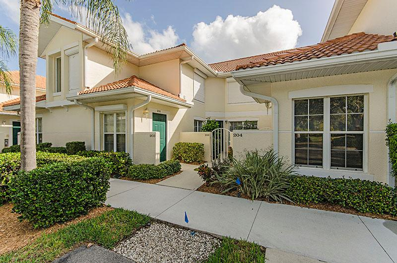 Front Entrance - Lakeview in Carlton Lakes - Naples - rentals