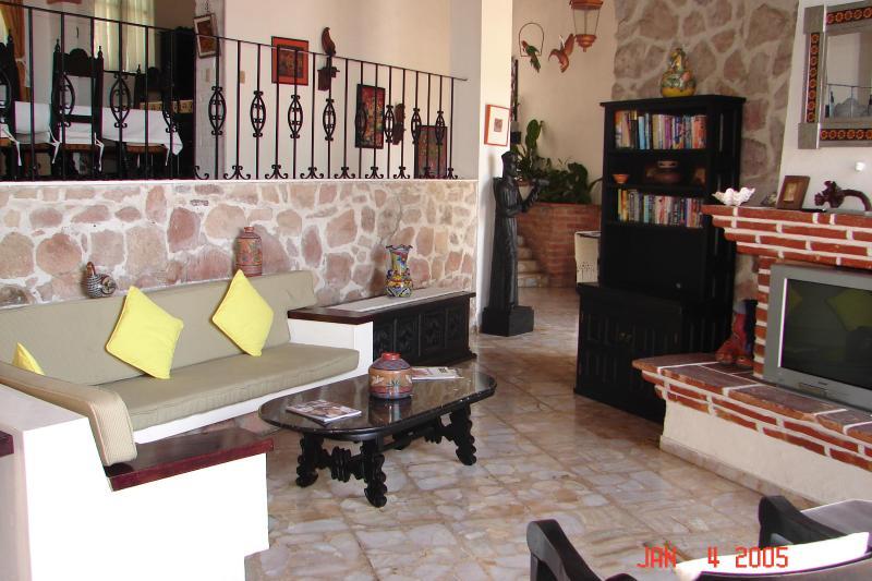 Living Room - Casa Carmelina - Puerto Vallarta - rentals
