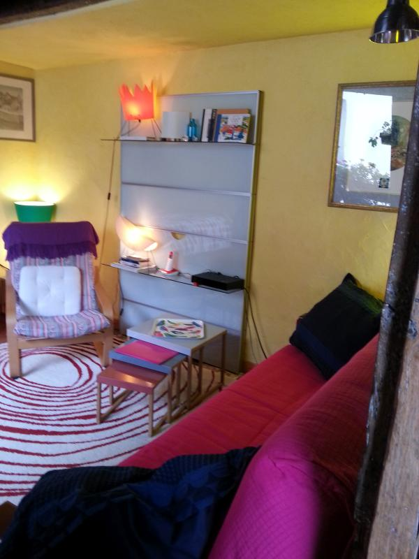 Squeaky clean kitchen - Small, clean Studio Apartment / Real Kitchen Paris - Paris - rentals