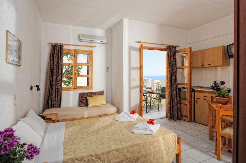 Room - Erofili Apts Charming Studio for 3 - Hersonissos - rentals
