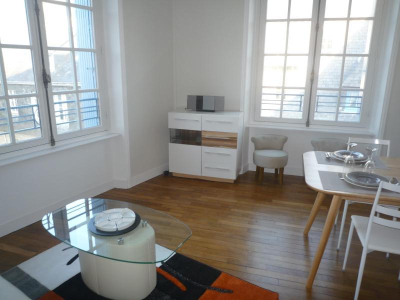 Lounge - Historic Center of Quimper - Bright Apartment - Quimper - rentals