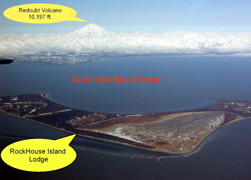 The island overview - Alaska's Rock Island Lodge - Kenai - rentals