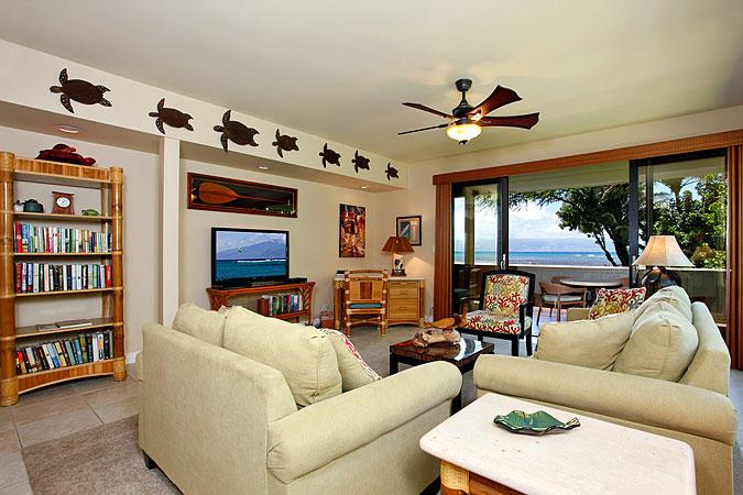 Ocean Front 3 Bedroom Luxury Condo Unit 42 - Image 1 - Lahaina - rentals