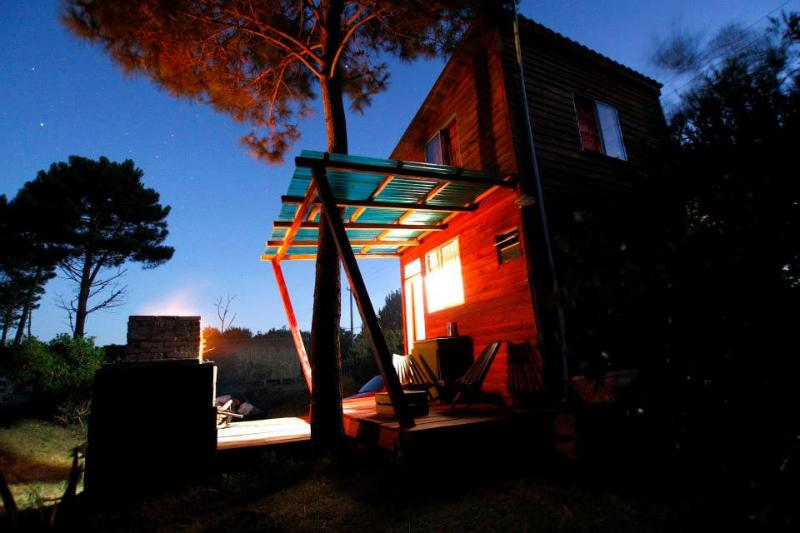 your house at night - Aocaná. Bungalow into the Forest - Punta del Diablo - rentals