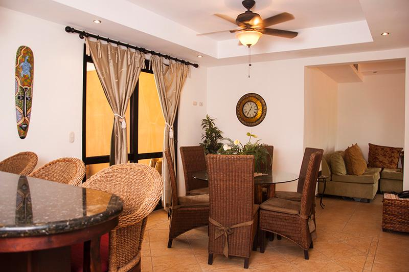 Main living area - Bahia Encantada 2G 2nd Floor Ocean View - Jaco - rentals