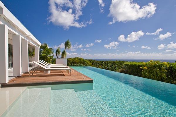 Elegantly furnished hillside villa with sweeping ocean views WV BJJ - Image 1 - Gouverneur - rentals
