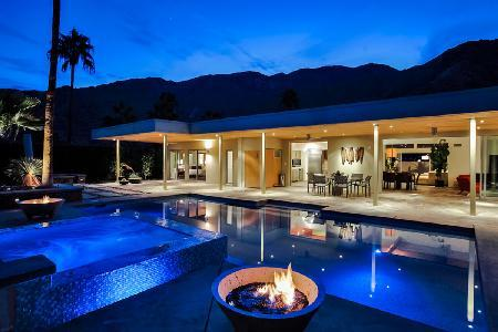 Martini Rose - Spacious Home to Relax with Pool and Cascading Jacuzzi - Image 1 - Palm Springs - rentals