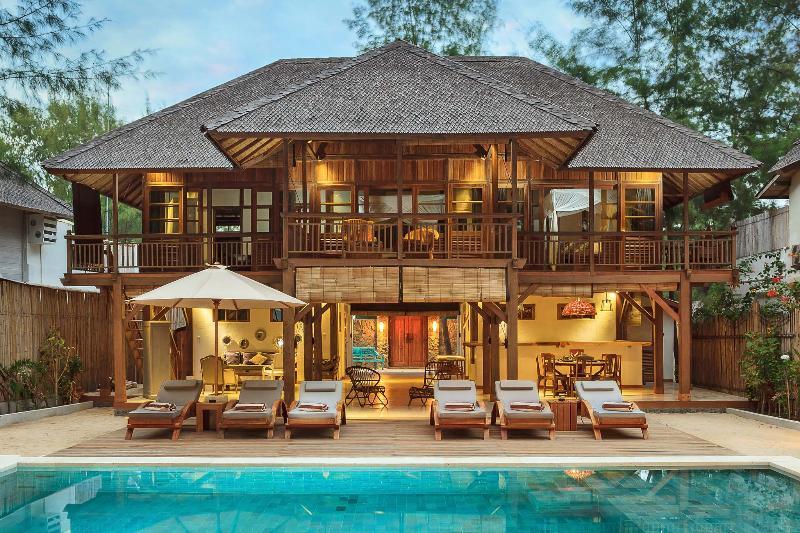 VIEW OF THE VILLA - The Gili Beach Resort 2 - Gili Trawangan - rentals