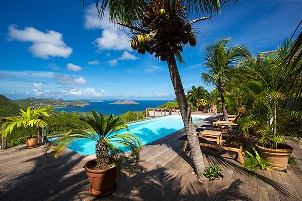 Located in Petite Saline with expansive views of the sunset over the ocean WV SKY - Image 1 - Saint Barthelemy - rentals