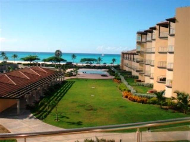 Magnificent ocean view from your balcony! - Allergy Friendly One-Bedroom Condo - P314 - Eagle Beach - rentals