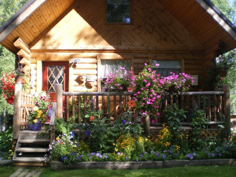 wasilla motel alternative beautiful log cabin - Image 1 - Wasilla - rentals