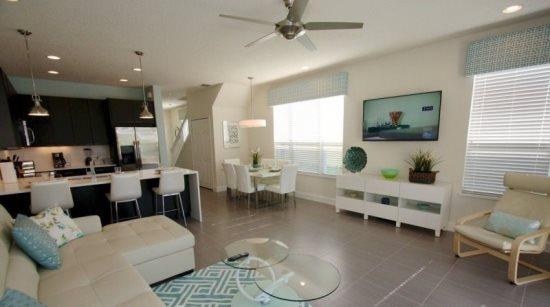 3 Bedroom 3 Bathroom Townhome with South Facing Pool. 17418PA - Image 1 - Orlando - rentals
