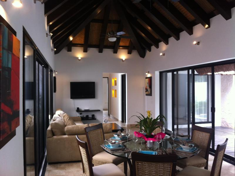 The Living Area - Casa Harmony - Tulum - rentals