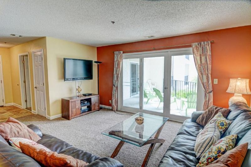 Living Room - Villa Capriani 105-A -3BR_6 - North Topsail Beach - rentals