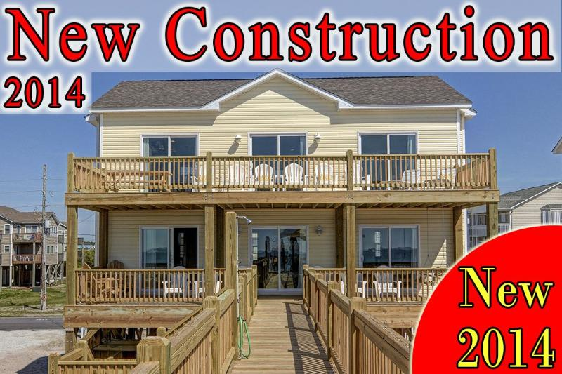 1280 New River Inlet Rd - New River Inlet Rd 1280 -4BR_SFH_OF_12 - North Topsail Beach - rentals