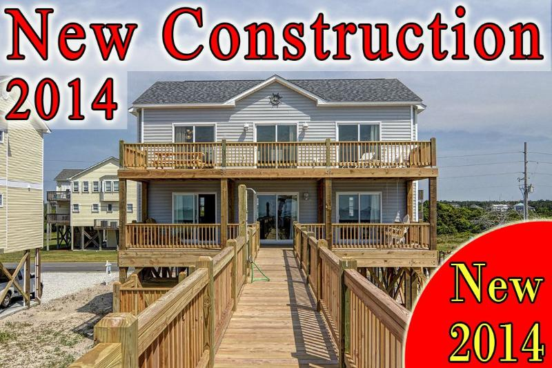 1282 New River Inlet Rd - New River Inlet Rd 1282 -4BR_SFH_OF_12 - North Topsail Beach - rentals