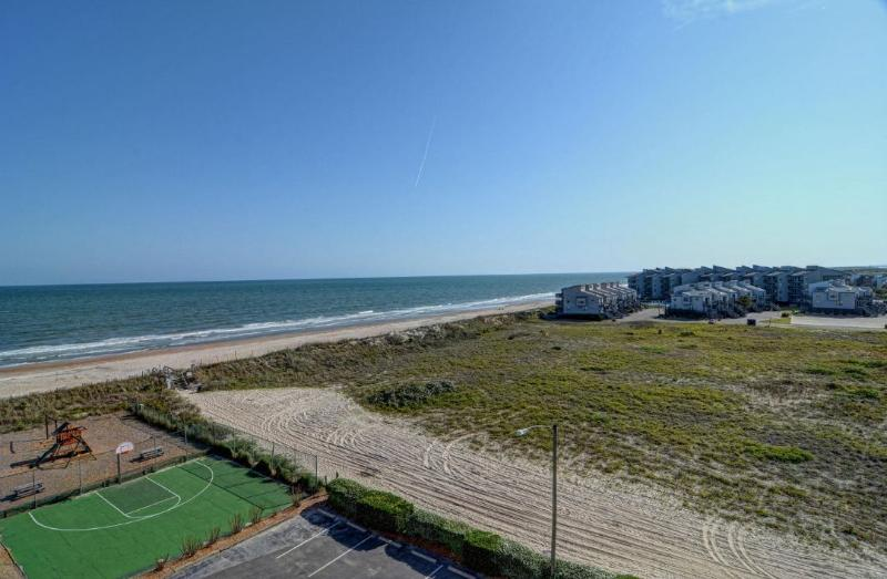 View From Your Balcony - St. Regis 1501 Oceanfront! | Indoor Pool, Outdoor Pool, Hot Tub, Tennis Courts, Playground - North Topsail Beach - rentals