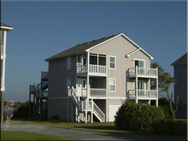 137 Old Village Ln - Old Village Lane 137 Sound View!   Community Pool, Tennis, Private Dock (not deep water) - North Topsail Beach - rentals