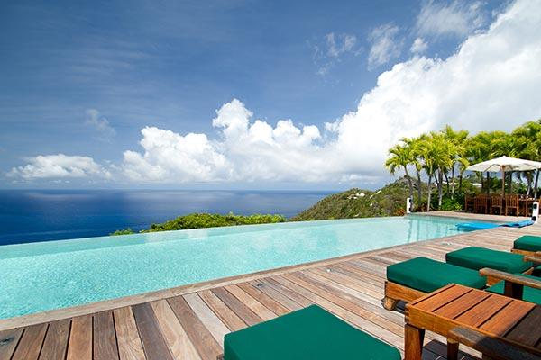 Perched atop the hill in Colombier- exquisite views of the whole island. WV BWH - Image 1 - Colombier - rentals