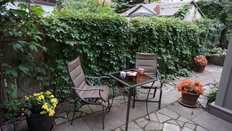 Backyard pic2 - 3 bedrooms Luxury Victorian Townhouse in Downtown Toronto - Toronto - rentals