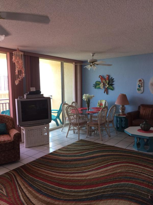 Living Room - New Smyrna Beach Vacation Condo Rental - New Smyrna Beach - rentals