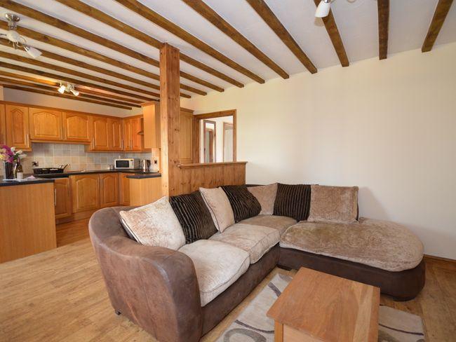 Lounge/kitchen area - TYBEU - Capel Bangor - rentals