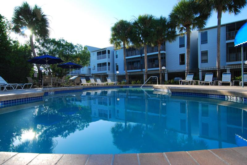 Condo overlooking the private pool - The beautiful Cove on Anna Maria Island - Holmes Beach - rentals