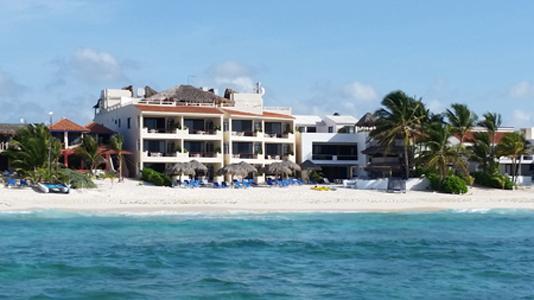 Beach View - VillasDeRosa:A small family owned resort-3-bedroom - Akumal - rentals