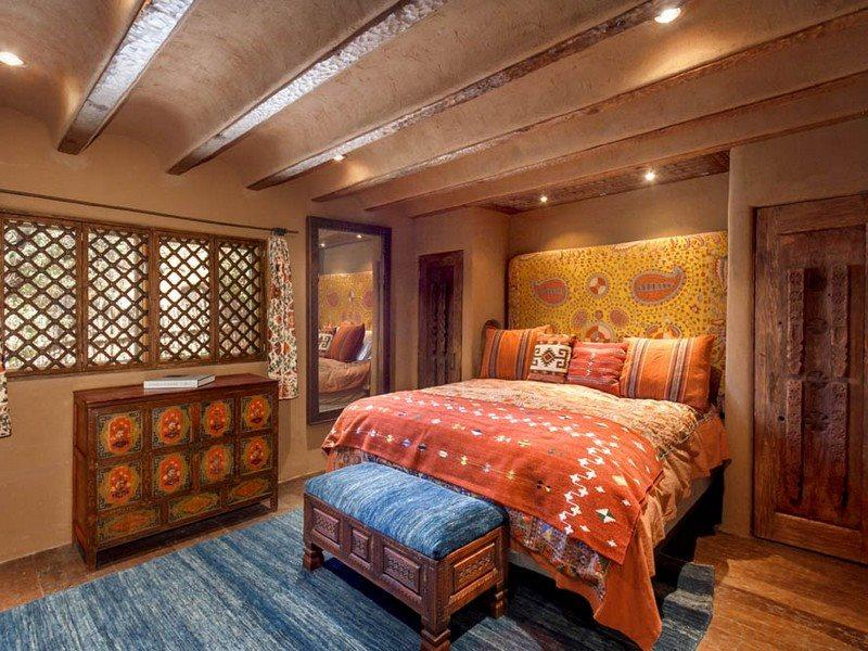 First master bedroom with King bed and flat screen TV - Artesano - A Work Of Art! - Santa Fe - rentals