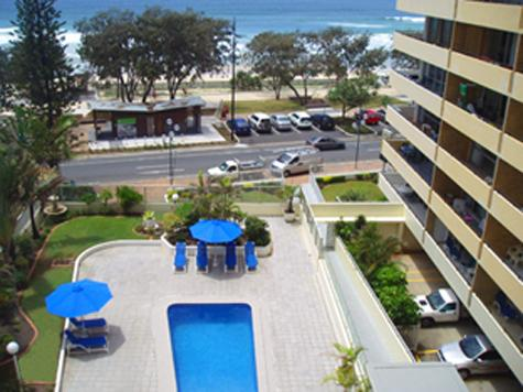 Surfers Paradise Central Ocean view of the beach!! - Image 1 - Gold Coast - rentals