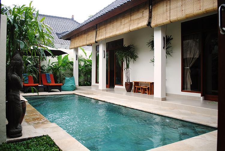 Pool and sun lounges. - Villa Santai - a private retreat in Penestanan. - Ubud - rentals